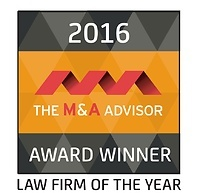 M&A Advisor Law Firm of the Year